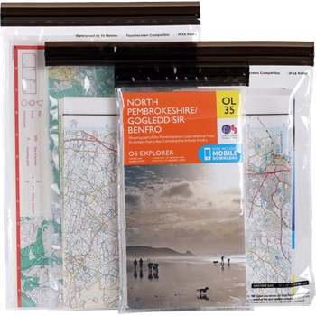 DriStore LocTop Bags - Maps, 3 pack
