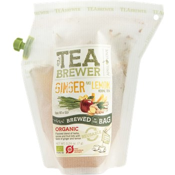 Ginger and Lemon, Herbal Tea
